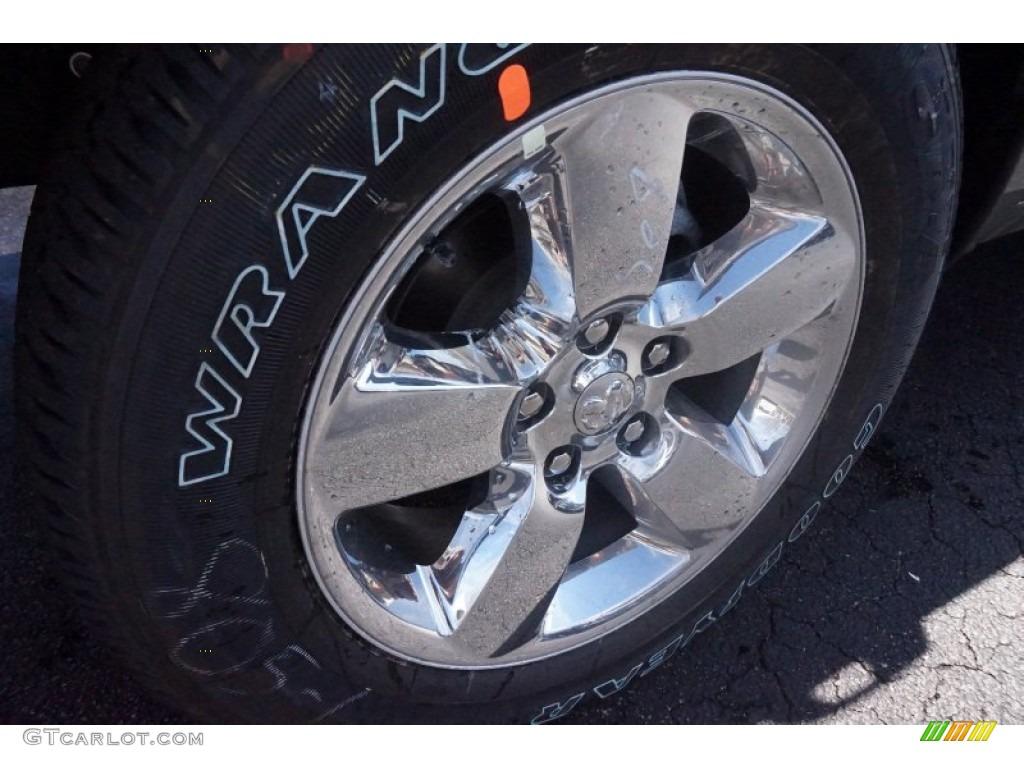 2015 1500 Big Horn Crew Cab 4x4 - Prairie Pearl / Black/Diesel Gray photo #5