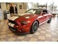 2014 Ruby Red Ford Mustang Shelby GT500 SVT Performance Package Coupe #101827004