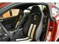 2014 Ford Mustang Shelby Charcoal Black/White Accents Recaro Sport Seats Interior Front Seat Photo