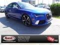 Sepang Blue Pearl 2015 Audi RS 7 4.0 TFSI quattro