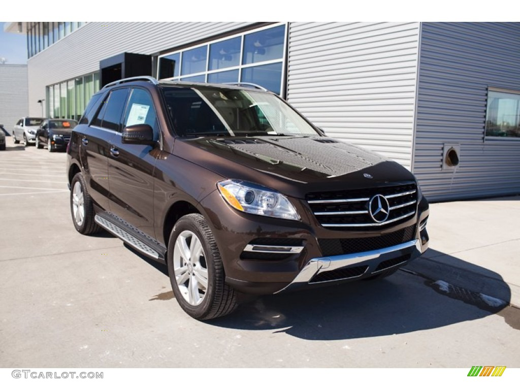 2015 dakota brown metallic mercedes benz ml 350 4matic for Mercedes benz ml 2015