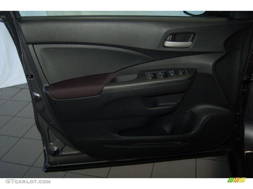 2015 CR-V LX - Modern Steel Metallic / Gray photo #9