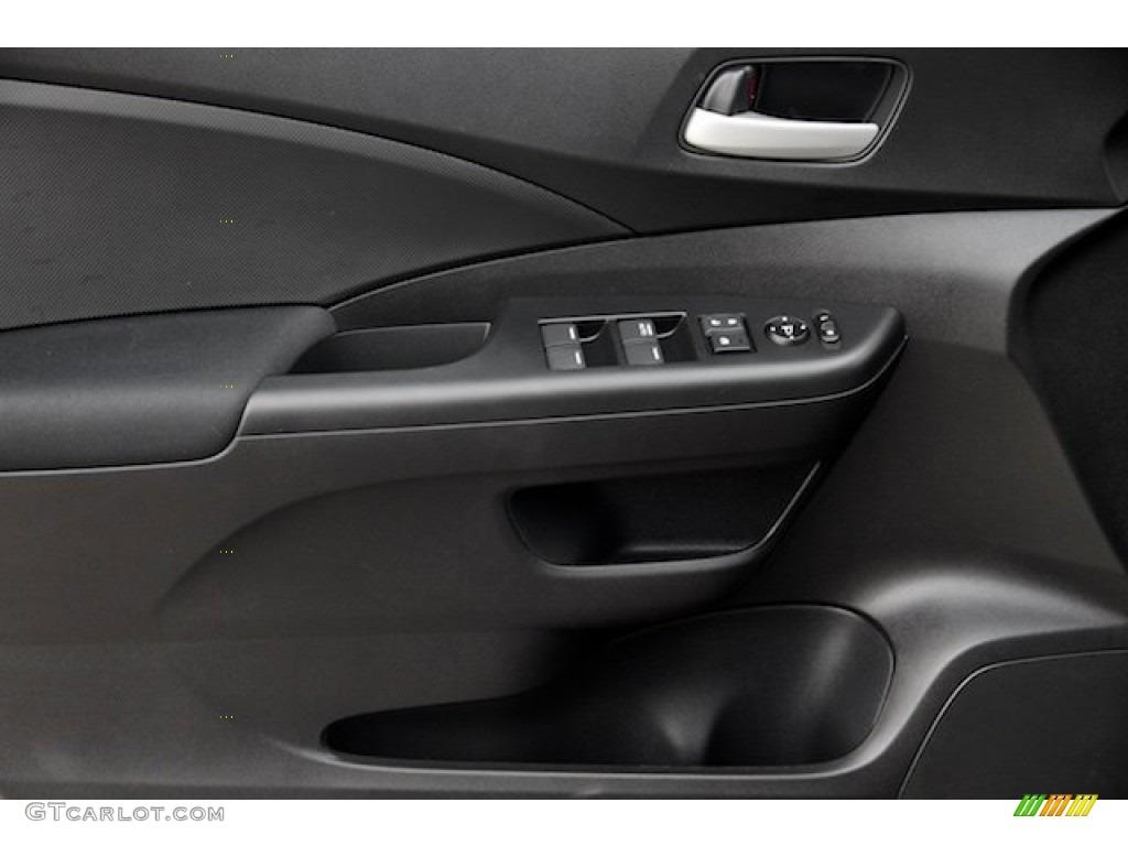 2015 CR-V LX - Modern Steel Metallic / Gray photo #7