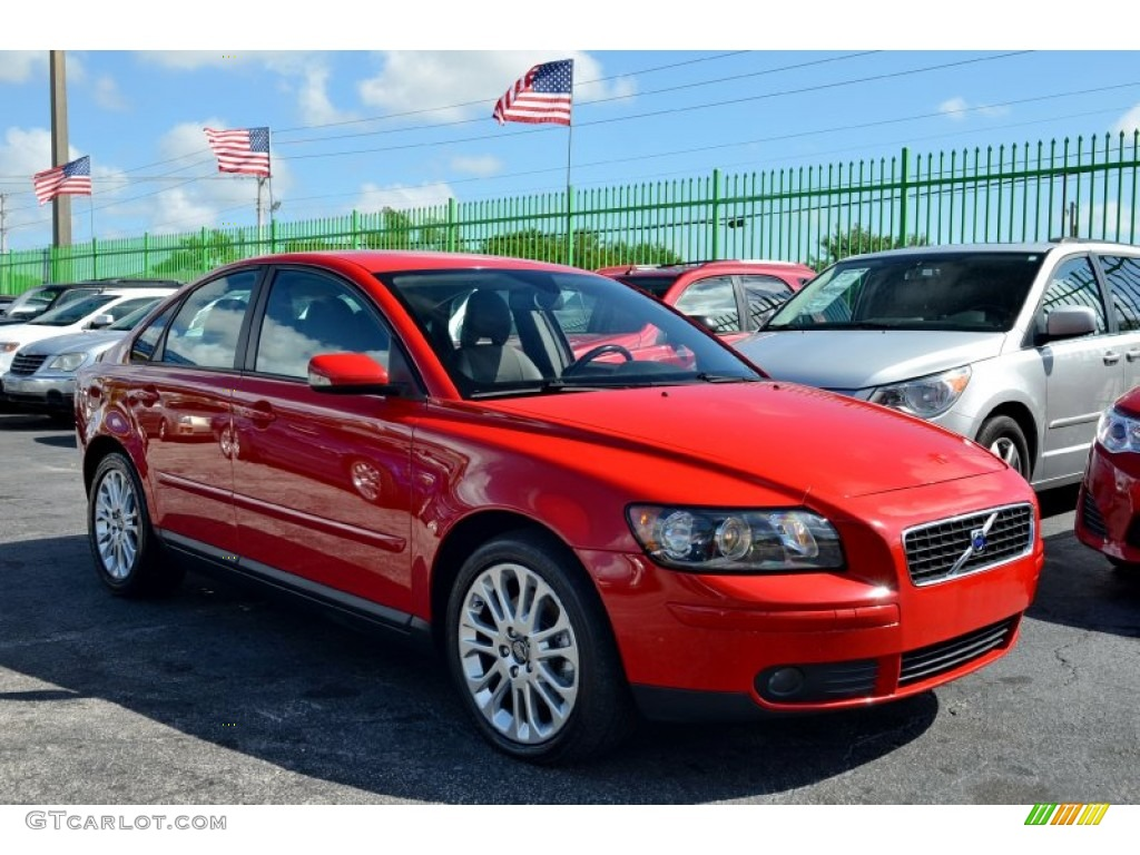 Passion Red 2006 Volvo S40 2 4i Exterior Photo 101891487 Gtcarlot Com