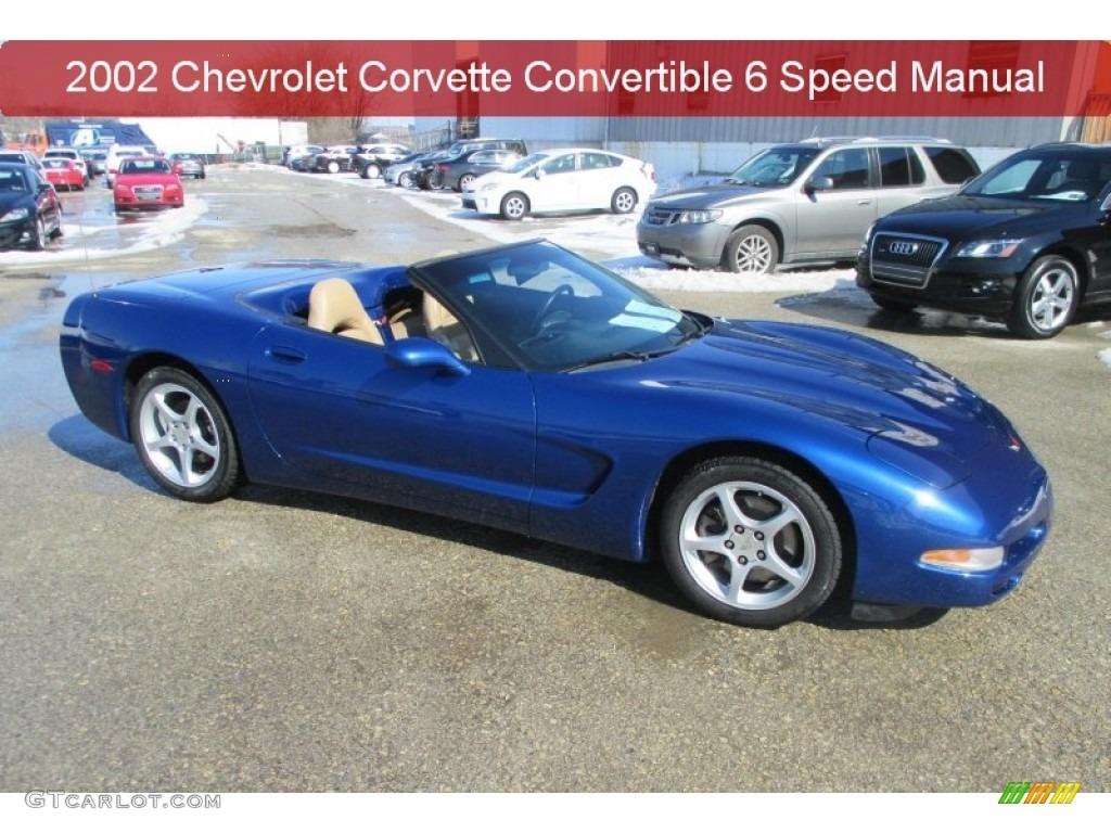 2002 electron blue metallic chevrolet corvette convertible rh gtcarlot com 2002 corvette manual specs 2002 corvette service manual