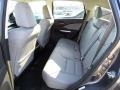 2015 Honda CR-V Gray Interior Rear Seat Photo