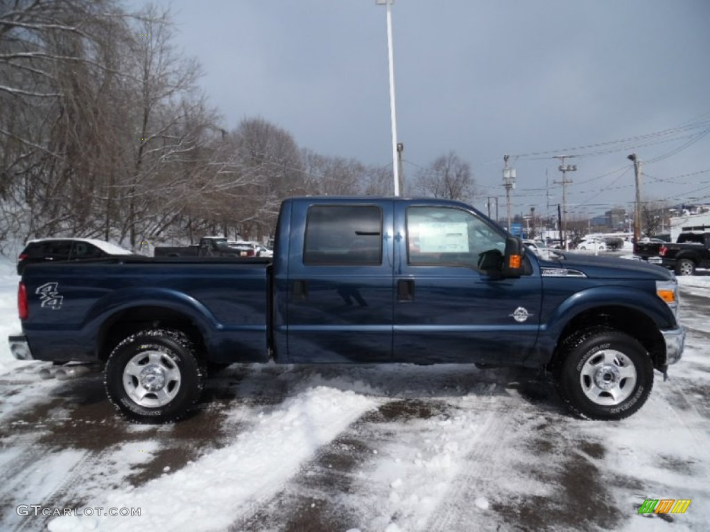 2015 F250 Super Duty XLT Crew Cab 4x4 - Blue Jeans / Steel photo #1