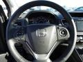 2015 Honda CR-V Gray Interior Steering Wheel Photo