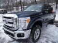 2015 Blue Jeans Ford F250 Super Duty XLT Crew Cab 4x4  photo #4