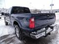 2015 Blue Jeans Ford F250 Super Duty XLT Crew Cab 4x4  photo #6
