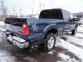 2015 Blue Jeans Ford F250 Super Duty XLT Crew Cab 4x4  photo #9