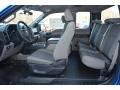Medium Earth Gray Interior Photo for 2015 Ford F150 #101899209