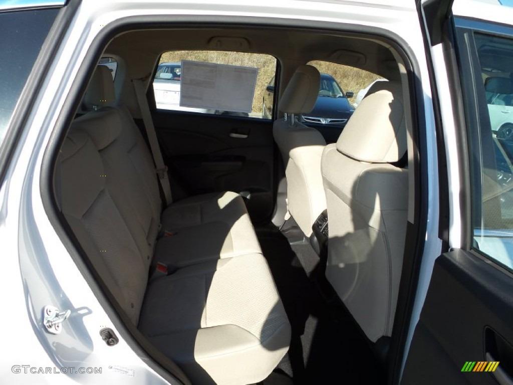 2015 CR-V LX AWD - White Diamond Pearl / Beige photo #15