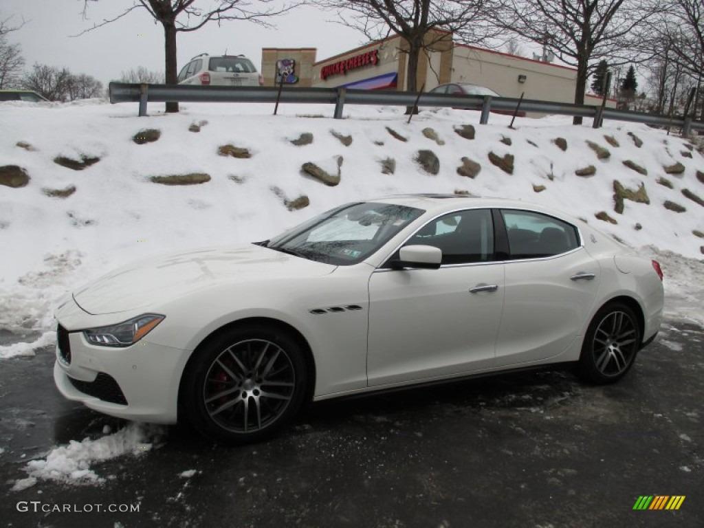 Bianco White 2014 Maserati Ghibli S Q4 Exterior Photo 101910983