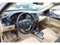 2015 BMW X3 Sand Beige Interior Interior Photo
