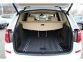2015 BMW X3 Sand Beige Interior Trunk Photo