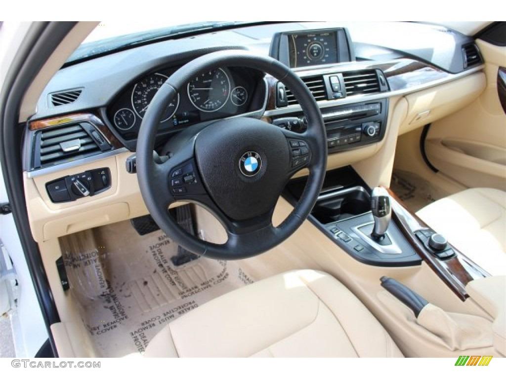 2014 BMW 3 Series 320i Sedan Interior Color Photos