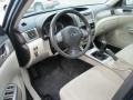 2010 Subaru Impreza Ivory Interior Interior Photo
