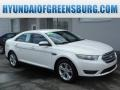 White Platinum Tri-Coat 2013 Ford Taurus SEL