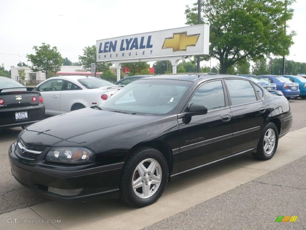 2002 black chevrolet impala ls 10182896 car color galleries. Cars Review. Best American Auto & Cars Review