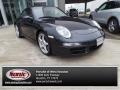 Midnight Blue Metallic 2005 Porsche 911 Carrera Coupe
