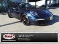 Dark Blue Metallic 2012 Porsche 911 Carrera S Coupe