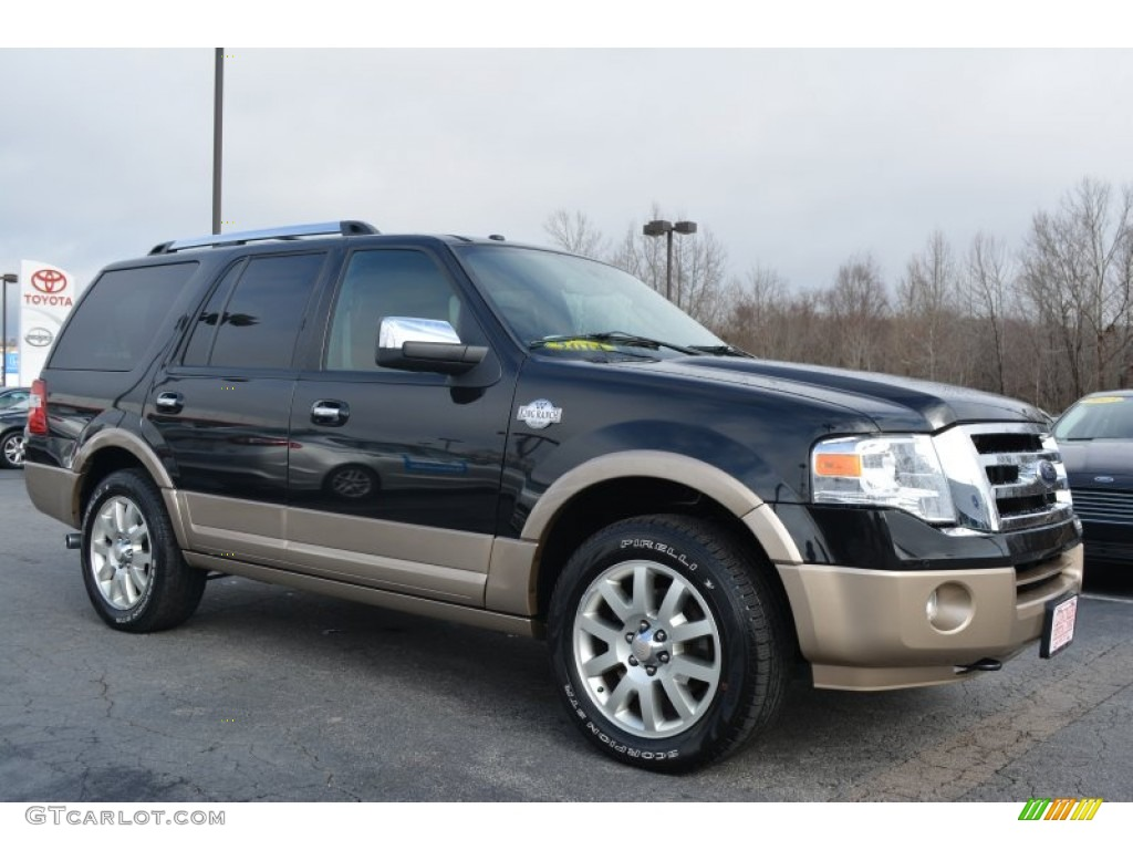 Tuxedo Black Ford Expedition King Ranch 4x4