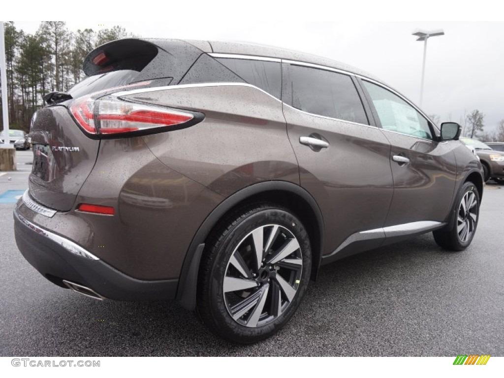 Nissan Murano 2017 Red >> 2015 Java Metallic Nissan Murano Platinum #101958078 Photo #5 | GTCarLot.com - Car Color Galleries