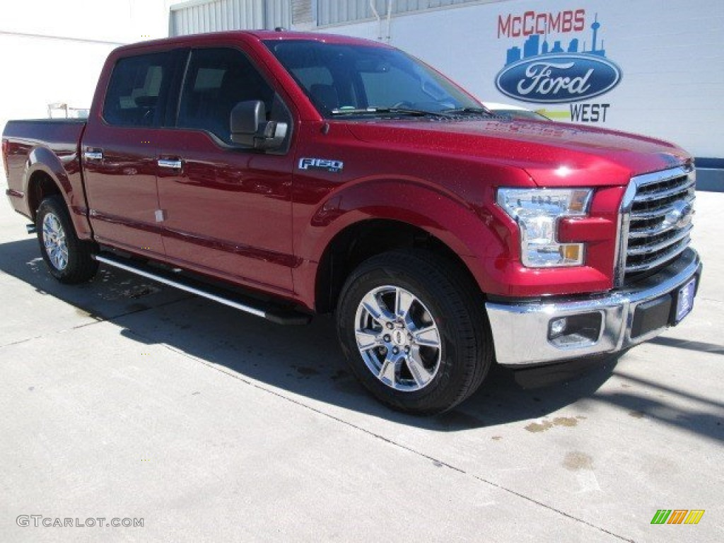 2015 Ruby Red Metallic Ford F150 Xlt Supercrew 101993706