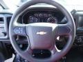 Dark Ash/Jet Black Steering Wheel Photo for 2015 Chevrolet Silverado 1500 #102035277