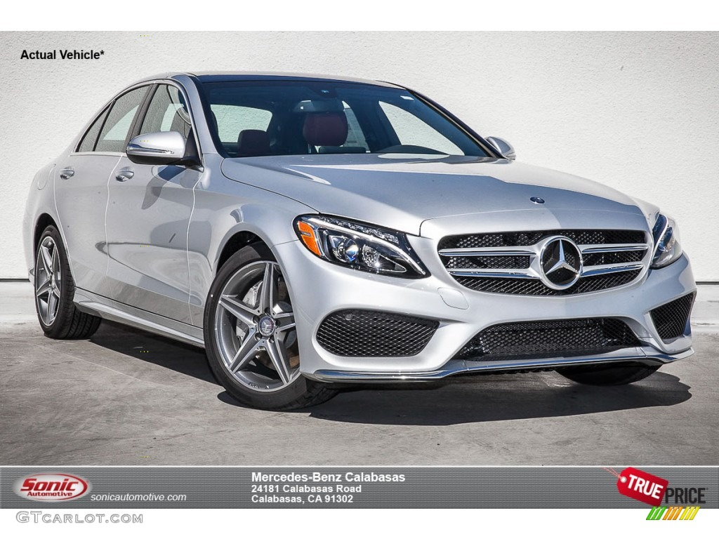 2015 iridium silver metallic mercedes benz c 300 for Mercedes benz silver