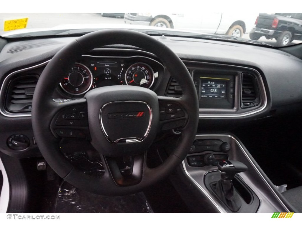 2015 Bright White Dodge Challenger Sxt 102050365 Photo 8 Car Color Galleries