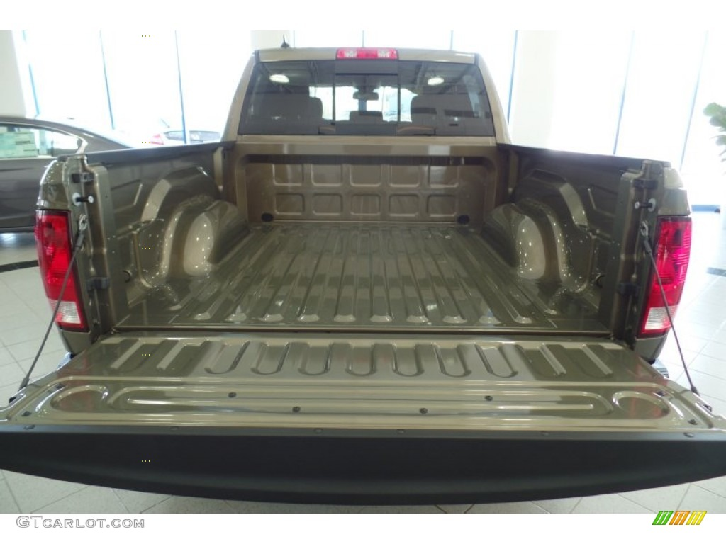 2015 1500 Big Horn Crew Cab 4x4 - Prairie Pearl / Canyon Brown/Light Frost photo #5