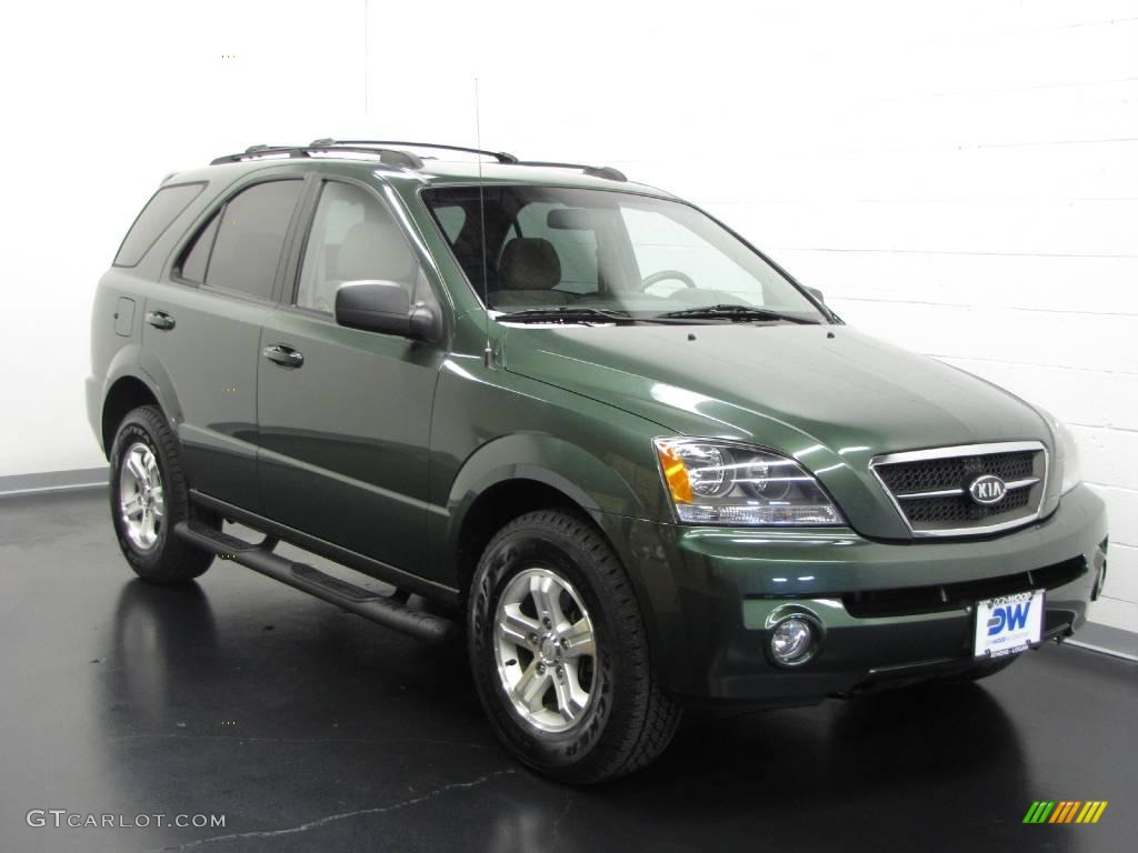 2006 ivy green kia sorento lx 4x4 10192972. Black Bedroom Furniture Sets. Home Design Ideas