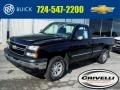 2006 Black Chevrolet Silverado 1500 Work Truck Regular Cab 4x4 #102050574