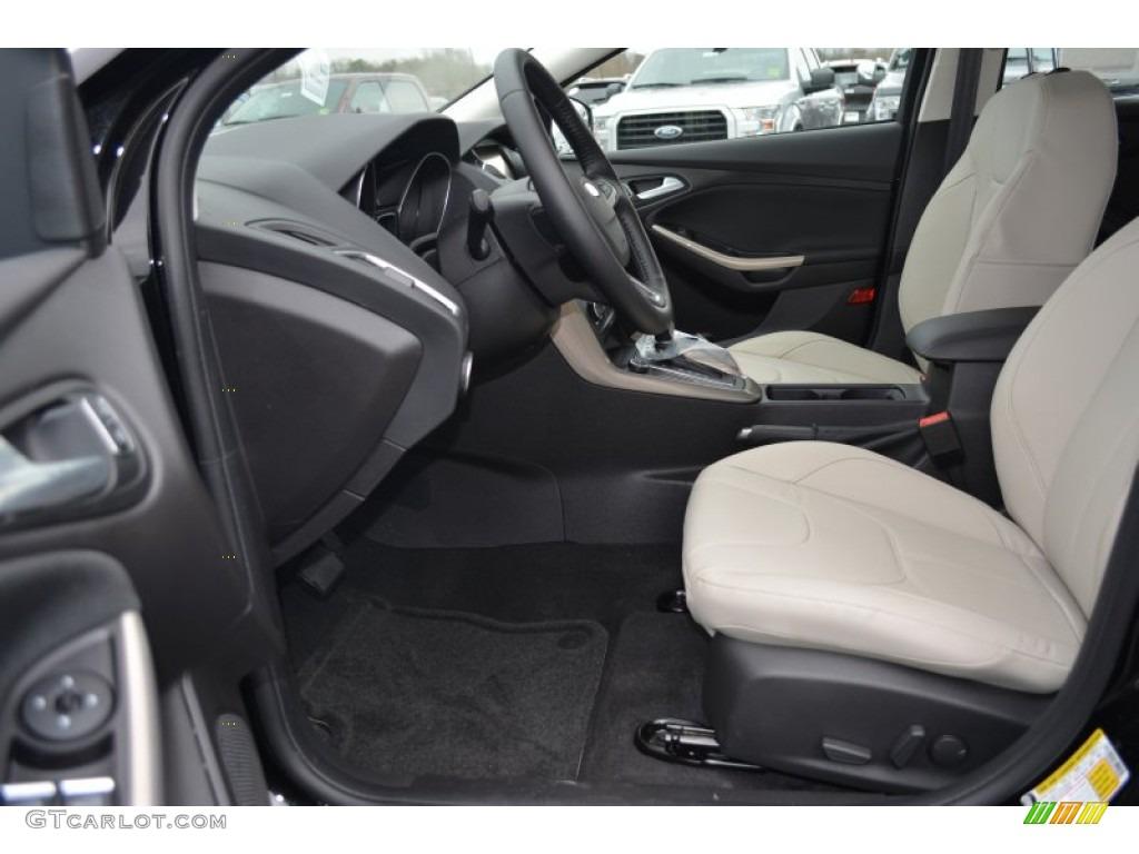 Medium soft ceramic interior 2015 ford focus titanium hatchback photo 102078312
