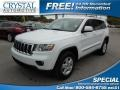 Bright White 2013 Jeep Grand Cherokee Laredo 4x4