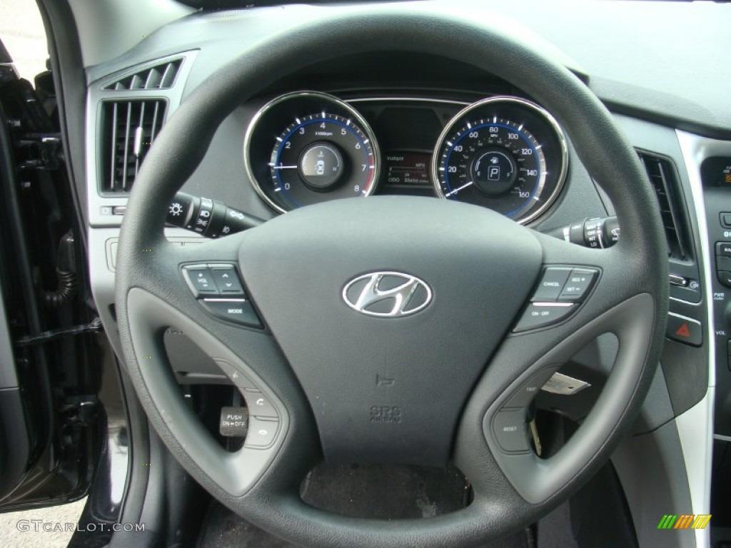 2013 Hyundai Sonata Gls Steering Wheel Photos Gtcarlot Com