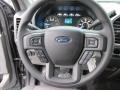 Medium Earth Gray Steering Wheel Photo for 2015 Ford F150 #102104142