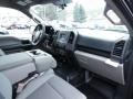Medium Earth Gray Interior Photo for 2015 Ford F150 #102153182