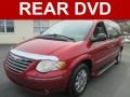 Inferno Red Crystal Pearl 2007 Chrysler Town & Country Limited