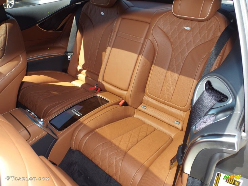 designo saddle brown black interior 2015 mercedes benz s 550 4matic coupe photo 102161966. Black Bedroom Furniture Sets. Home Design Ideas