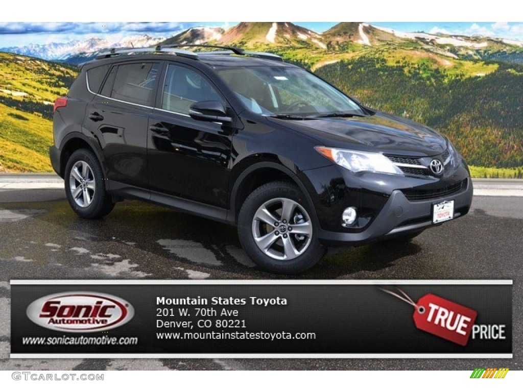 2015 black toyota rav4 xle 102146782 car color galleries. Black Bedroom Furniture Sets. Home Design Ideas