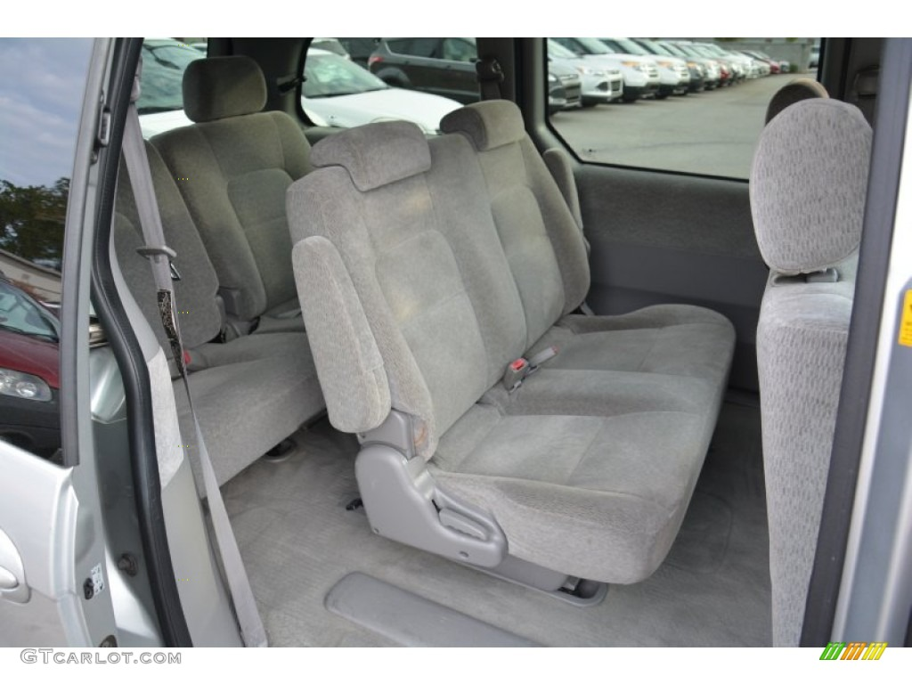 2005 Kia Sedona LX Interior Color Photos