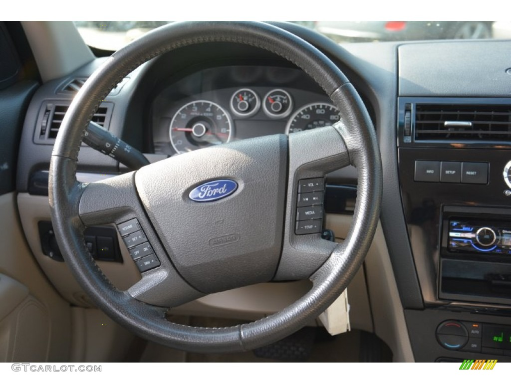2007 ford fusion sel steering wheel photos. Black Bedroom Furniture Sets. Home Design Ideas