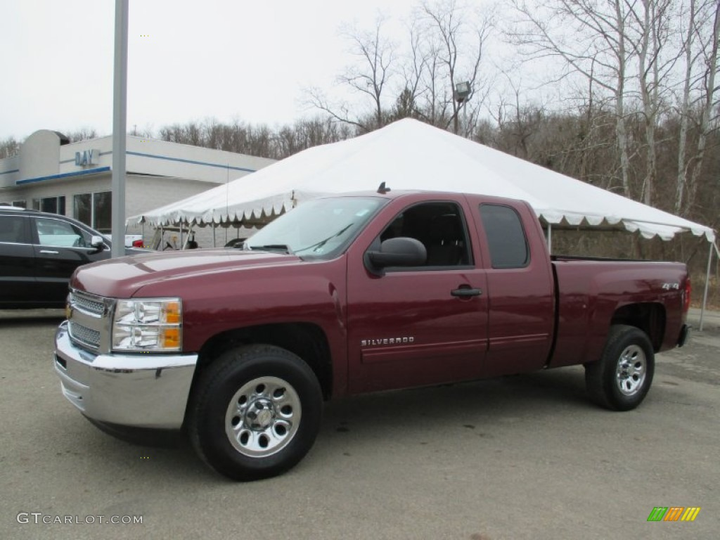Deep Ruby Metallic Chevrolet Silverado 1500