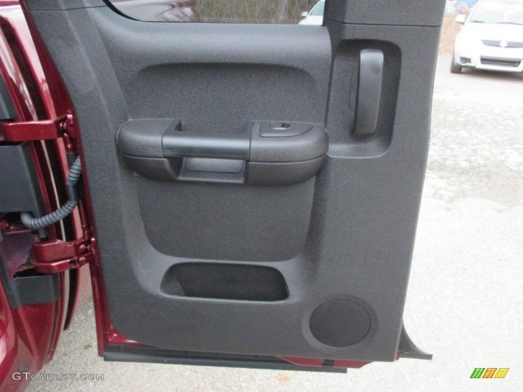 2013 Silverado 1500 LS Extended Cab 4x4 - Deep Ruby Metallic / Ebony photo #20