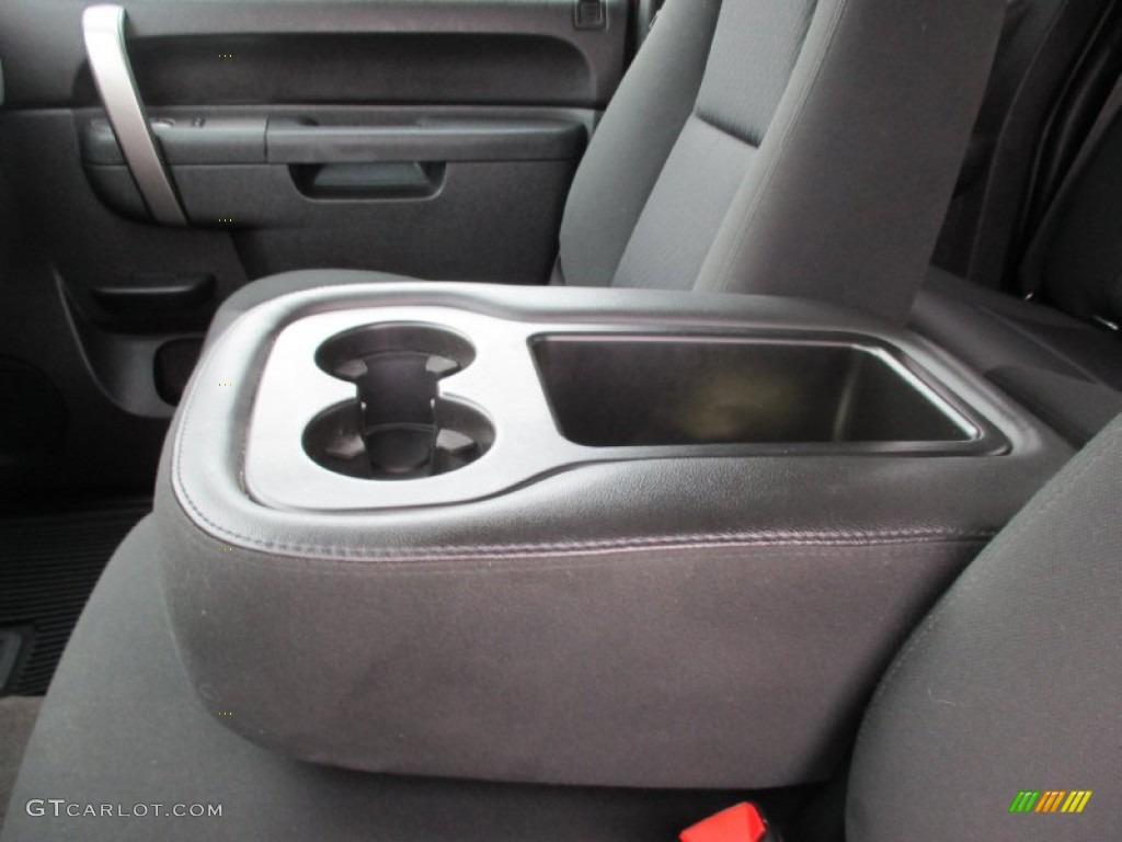 2013 Silverado 1500 LS Extended Cab 4x4 - Deep Ruby Metallic / Ebony photo #22