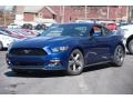 Deep Impact Blue Metallic 2015 Ford Mustang Gallery
