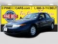 2001 Dark Blue Saturn L Series L200 Sedan #102189807